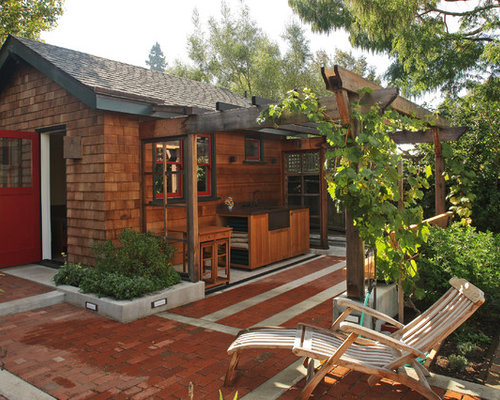 Small Mountain Style Detached Shed Photo In San Francisco