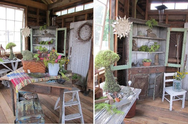 Eclectic Shed by Iron Accents