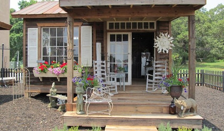 A Potting Shed Puts a New Spin on Old Treasures