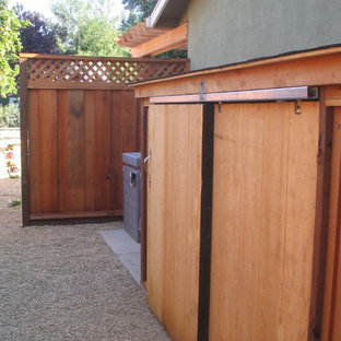 Design ideas for a medium sized contemporary attached garden shed and building in San Francisco.