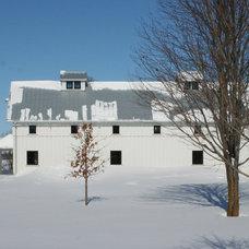 Modern Garage And Shed by Albertsson Hansen Architecture, Ltd
