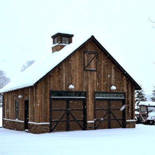 Photo of a large country detached barn in New York.