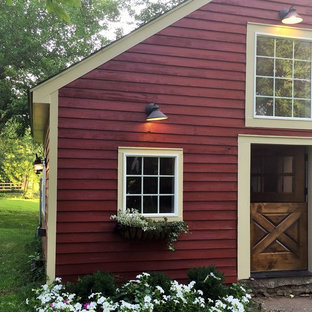 This is an example of a small country detached granny flat in Philadelphia.