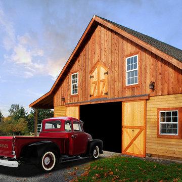Barn Style Garages & Shops