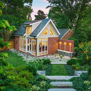 ワシントンD.C.の中くらいのトラディショナルスタイルのおしゃれなゲストハウスの写真