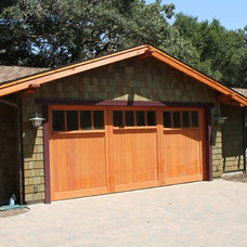 Craftsman Garage And Shed by James Witt Homes