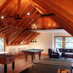 Design ideas for a large traditional detached barn in Boston.