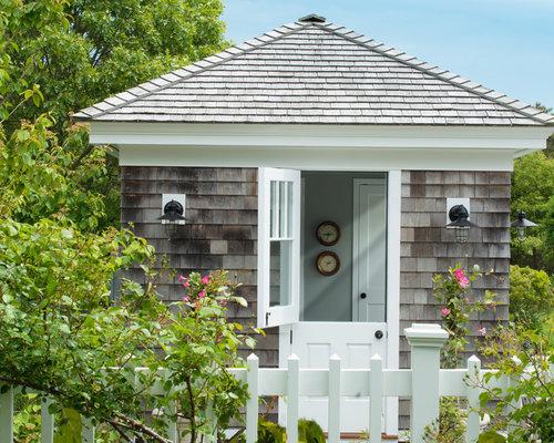 maritime garage und gartenhaus ideen design bilder houzz. Black Bedroom Furniture Sets. Home Design Ideas