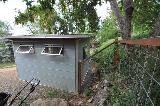 Contemporary Garage And Shed by Studio Shed