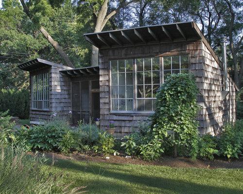 Garages et abris clectiques photos et id es d co de for Imposition garage ou abri de jardin