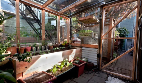 Warm Up a Greenhouse for Winter