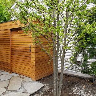 Abri de jardin séparé moderne : Photos et idées déco d\'abris de jardin