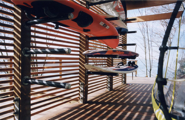 Wood Slats In Design Repetition Scale And Light