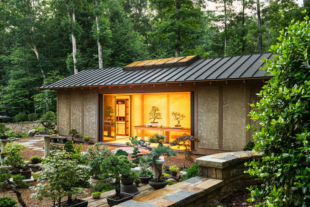 Asian Shed by Samsel Architects