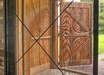 Very cool sliding screen door.  Who made this?
