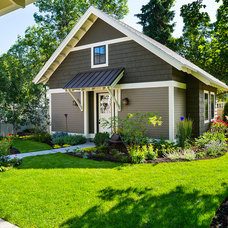 Craftsman Garage And Shed by Karl Neumann Photography