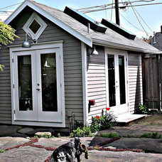 Traditional Garage And Shed by Brockerman hal Remodeling Specialists, Inc.