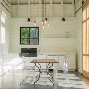 This is an example of an expansive country detached barn in Boston.
