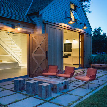 Cape Cod Barn, Pool, Patio and Landscape Design   Orleans, MA