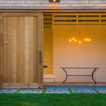 Cape Cod Barn, Pool, Patio and Landscape Design | Orleans, MA