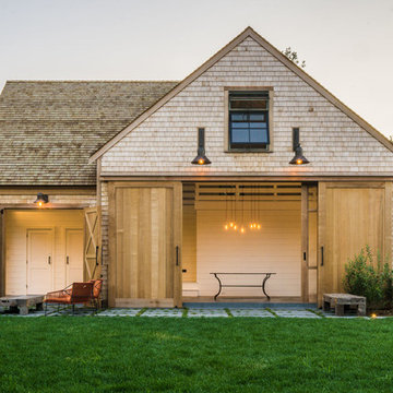 Cape Cod Barn, Pool, Patio and Landscape Design | Orleans, MA