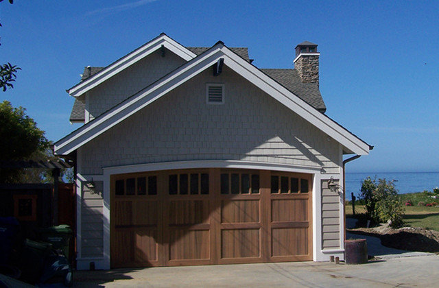 Traditional Garage And Shed by Darrough Construction Incorporated
