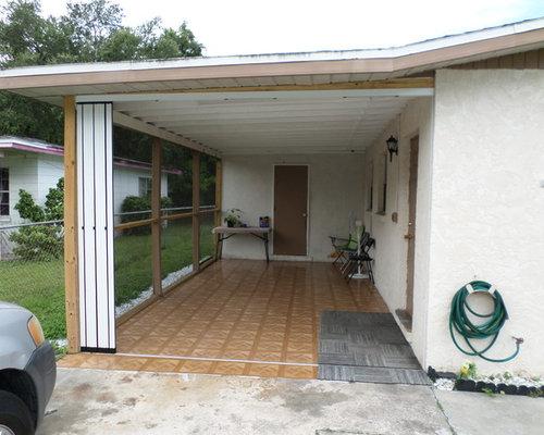 Carport Enclosure Ideas : Carport enclosure home design ideas pictures remodel and