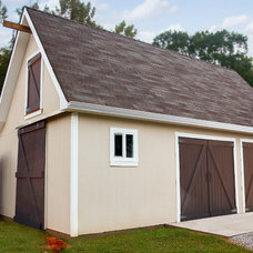 Traditional Garage And Shed by Banta Builders LLC