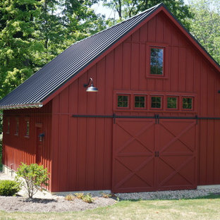 Photo of a country shed and granny flat in Cleveland.