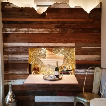 Champagne Theme Shed