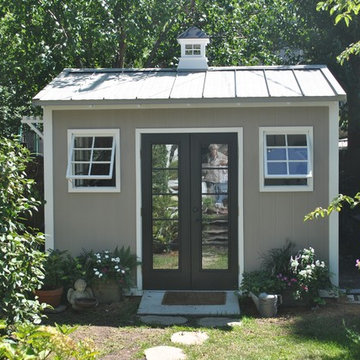 Charming Columbia, SC, custom garden shed with pergola and so much more!