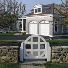 Traditional Garage And Shed by Steven Laurin & Company