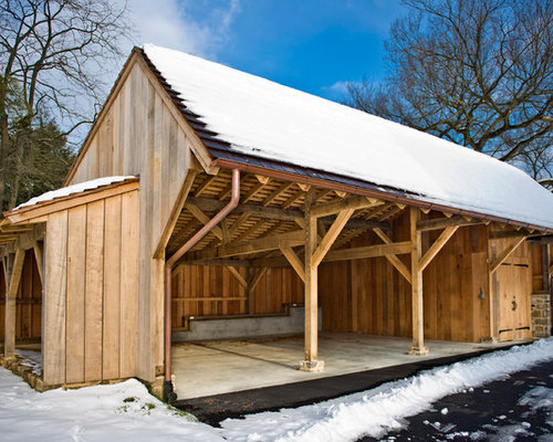 Best tractor shed design ideas remodel pictures houzz for How to build a tractor shed