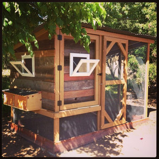 Chicken Coop from Reclaimed Wood