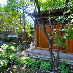 Design ideas for a medium sized world-inspired garden shed in Toronto.