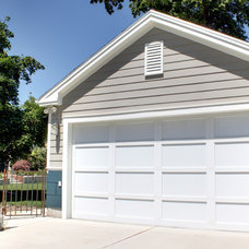 Traditional Garage And Shed by Renovation Design Group