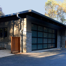 Contemporary Garage And Shed by Commonwealth Home Design