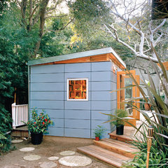 contemporary garage and shed by Serena Ludovico, ASID, CID