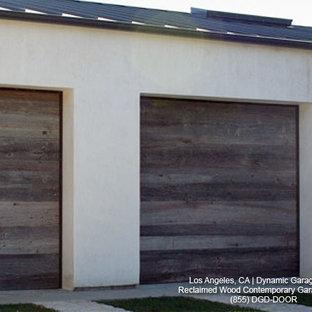 Reclaimed Wood Garage Doors Houzz, Reclaimed Barn Wood Garage Doors