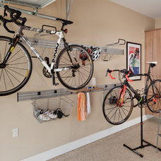 Contemporary Garage And Shed by Colorado Space Solutions