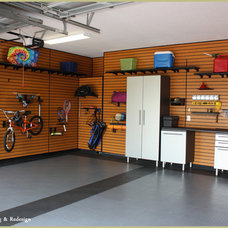 Contemporary Garage And Shed by Forgie Home Staging & Redesign