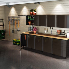 Contemporary Garage And Shed by Contur Cabinet