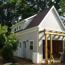Traditional Garage And Shed by Cook Bros Design Build Remodeling