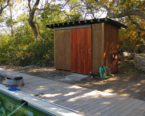 Sliding Door Shed Home Design Ideas Pictures Remodel And