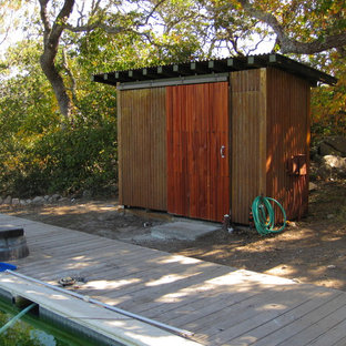Shed - contemporary shed idea in San Francisco