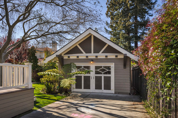 Craftsman Garage And Shed by Dennis Mayer, Photographer