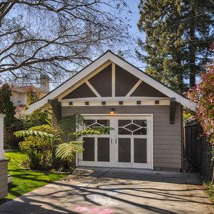 Inspiration for a craftsman detached shed remodel in San Francisco