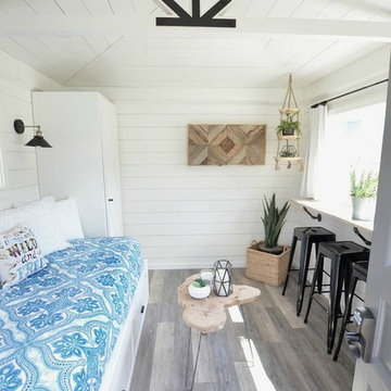 Cottage Guest House | A Garden Shed Transformed into a Modern Farmhouse Cottage