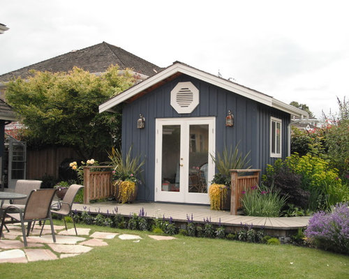 traditional garden shed idea in vancouver