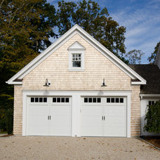 Beach Style Garage And Shed by Uccello Development, LLC